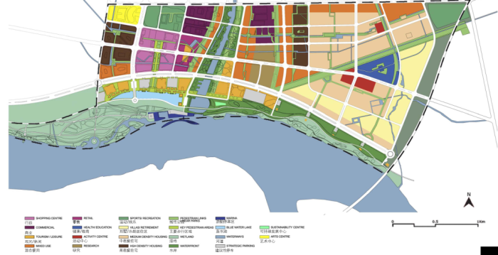 土地规划利用图