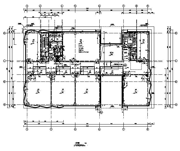[上海]10个子项目商务办公项目施工图(全专业图纸)_7