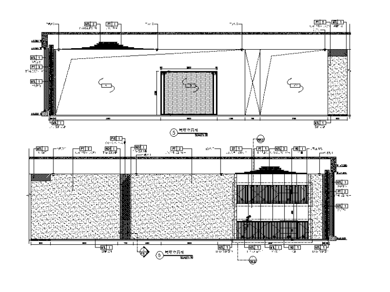 [北京]之家!新中式新作禅意CAD施工图(SU平面3dmax导入cad画模型图片