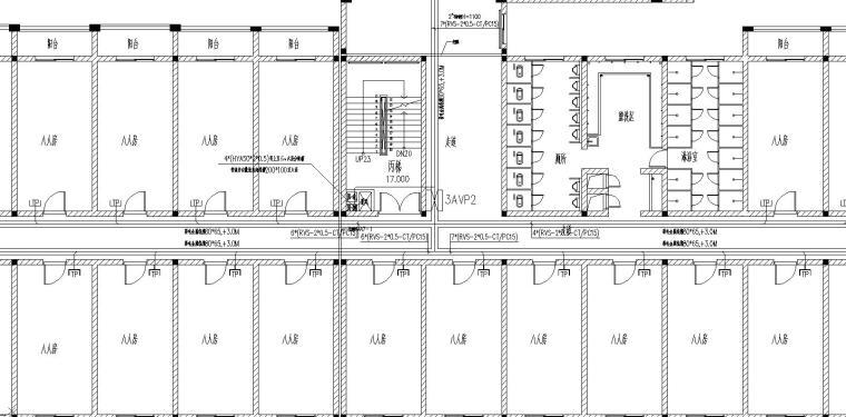 某工厂宿舍成套电气图