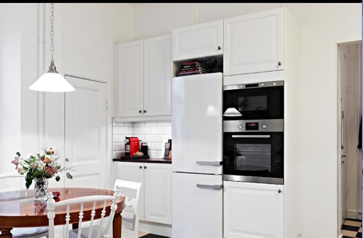 92平北欧公寓两室一厅室内设计实景图(18张)-厨房实景图