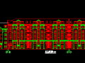 长春高层现代风格花园式住宅建筑施工图(深圳市清华苑建筑设计)