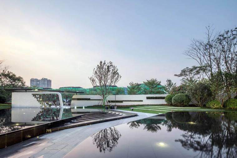 惠州新力城体验区景观