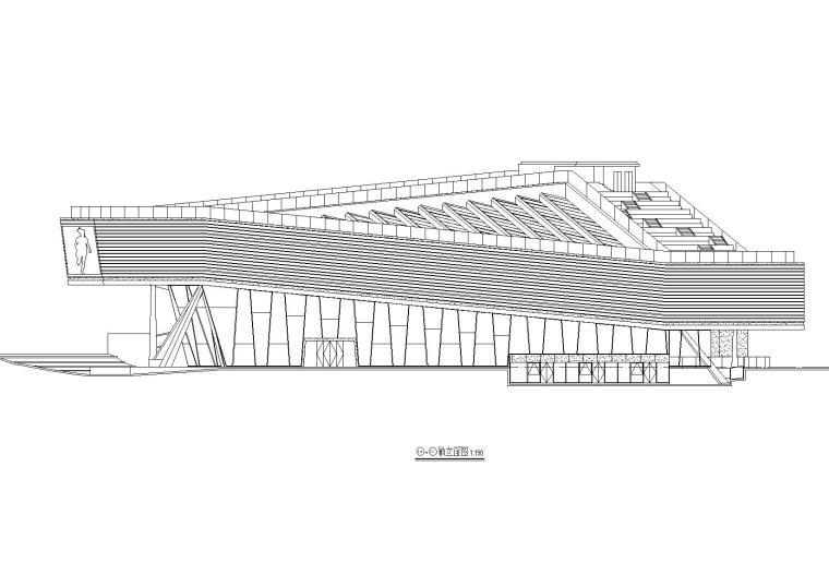 [上海]万科艺术中心建筑设计方案文本+建筑施工图+建筑SU模型