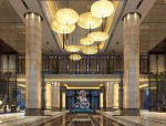 [青岛]新中式风格紫玥酒店装修概念设计方案附效果图