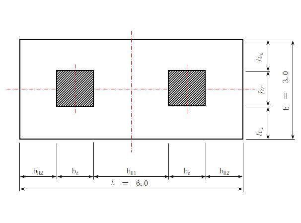平板式筏形基础手算设计表格(excel)