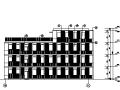 高层框剪结构办公楼建筑施工图