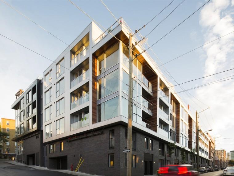 加拿大停车场改造成社区住宅