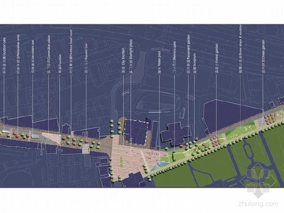 上海某道路景观改造概念性规划方案