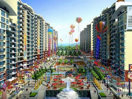 [重庆]现代时尚民俗文化街景观规划设计方案