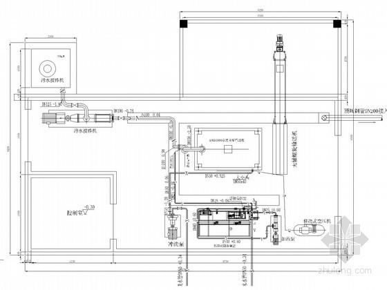 uasb工艺图纸资料下载-啤酒污水处理厂工艺全套图纸