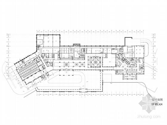 [北京]尊贵典雅五星级度假酒店设计方案(含效果图)