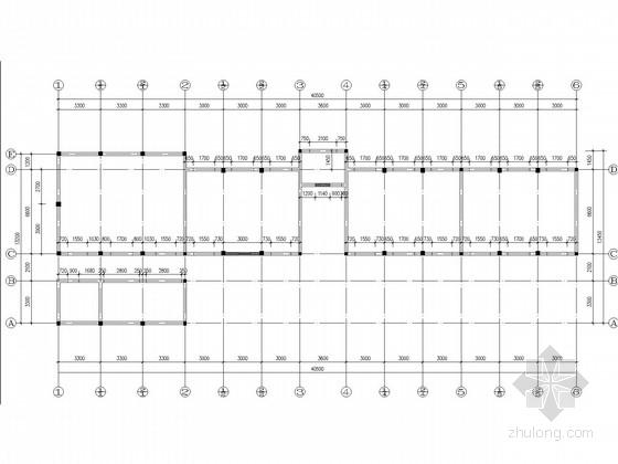 中学高中楼四层砖混结构抗震加固施工图