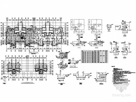 [安徽]地上7F+1层抗震墙结构多层住宅楼结构施工图