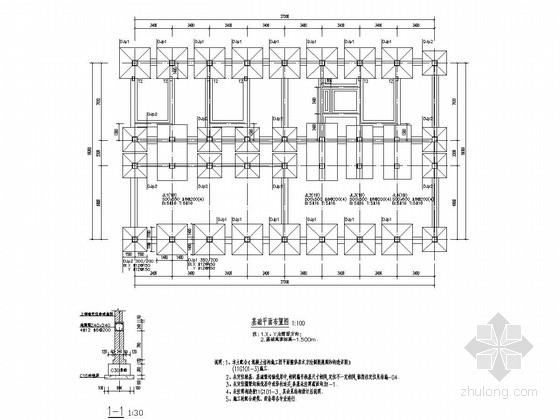 [河南]五层框架结构酒店结构施工图