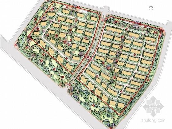 [北京]欧式典雅灵动型小区景观规划设计方案(知名设计单位)