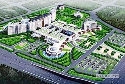 山西某综合医疗大楼工程施工组织设计(框剪结构 创鲁班奖)
