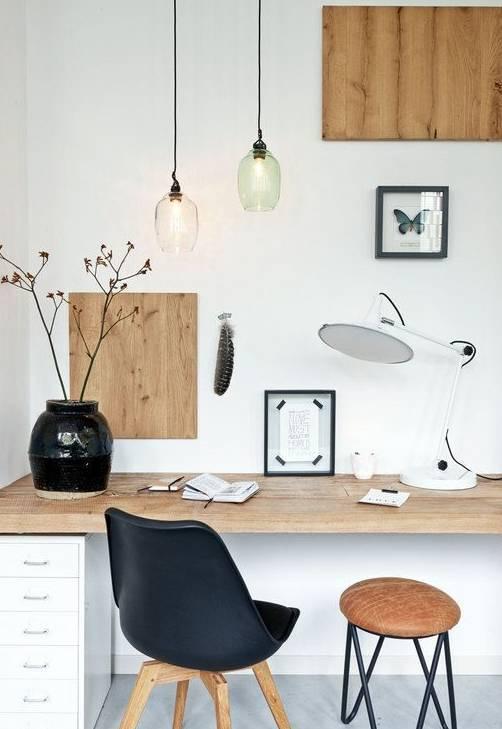 室内设计|N款工作间与书桌,看一眼就为之着迷!_12