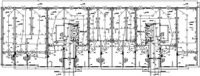 河南住宅小区项目电气施工图