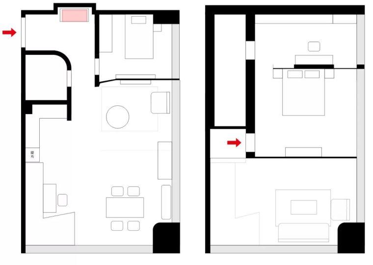 108m²LOFT公寓改造,一个温馨可爱且精致有颜的理想家!
