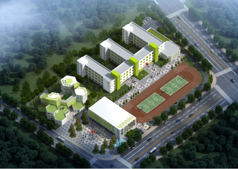 [浙江]火车东站枢纽地区小学及幼儿园项目建筑设计方案文本
