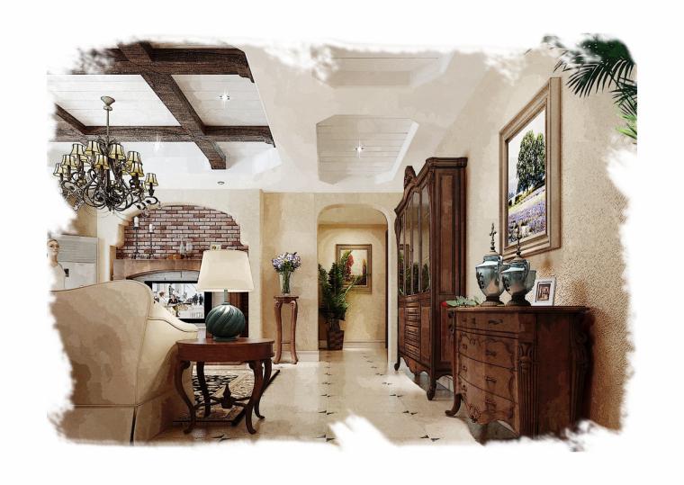 郑州家装设计清新奥兰多--永威 翡翠城平层家居设计