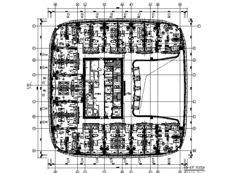 [深圳]全套的大型高档酒店设计施工图(含效果图+实景图)