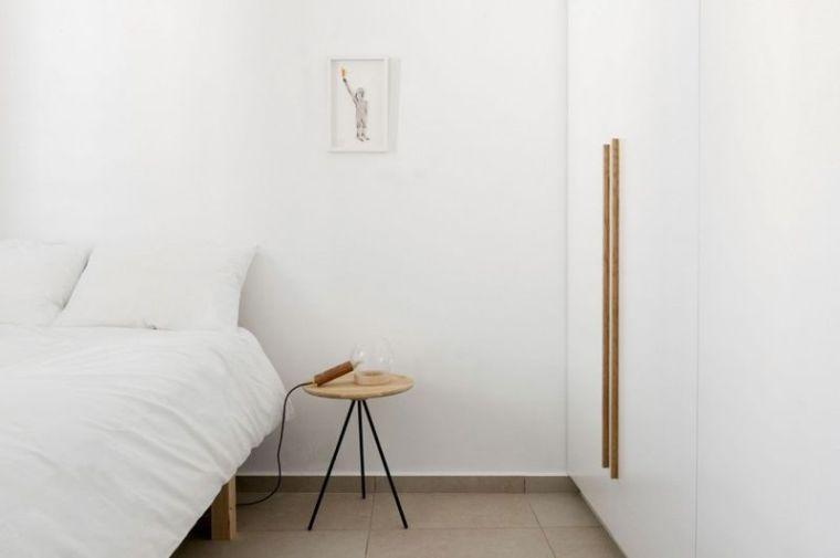 几何趣味80平纯净北欧风公寓设计_8