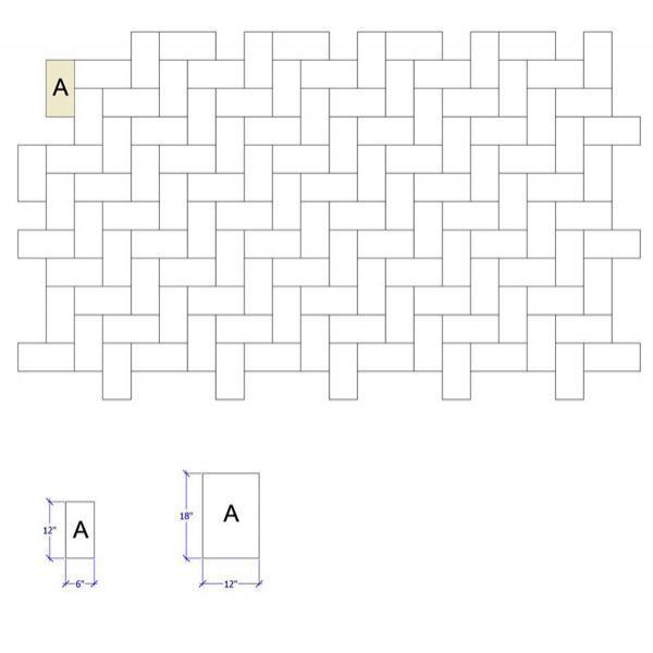 师傅总结的12种瓷砖铺贴方式,别让瓷砖毁了你的家!_9