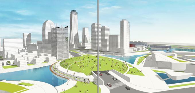 [江苏]滨江现代低碳示范区山水田园城市规划景观设计方案_13