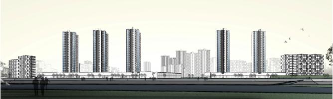 免费下载!55个居住区景观设计方案SU模型源文件_5