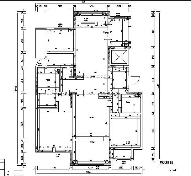 美式轻奢别墅设计施工图(附效果图)_3