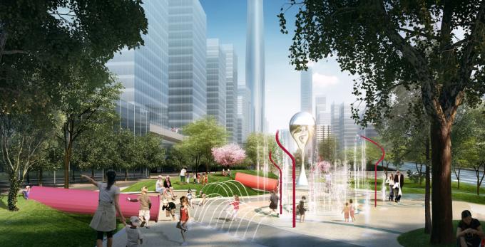 """[湖北]""""海绵城市""""生态智能体验式商业街区景观设计方案(上、中、下篇3个文本)_7"""