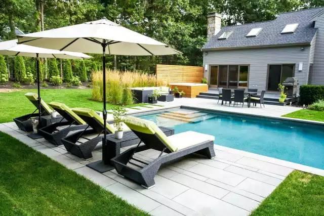 赶紧收藏!21个最美现代风格庭院设计案例_116