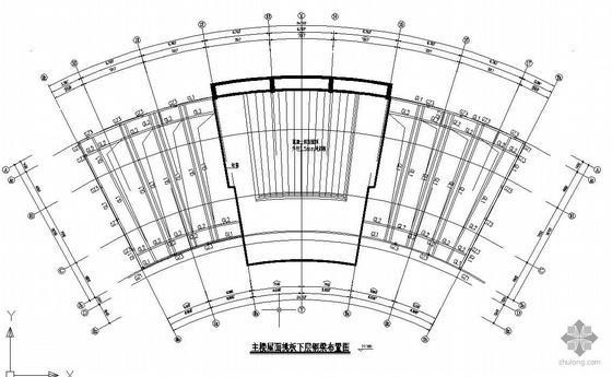 某屋面构架详图