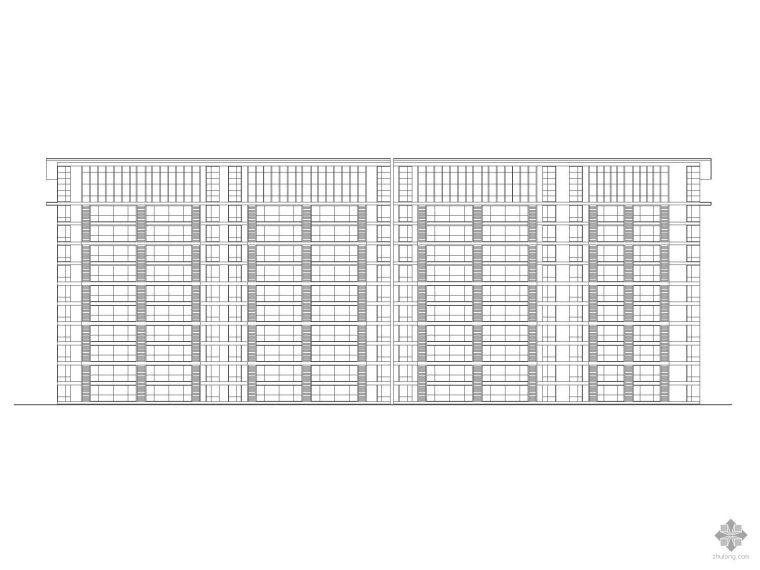 [北京]某部队住宅区规划方案图(带效果图)