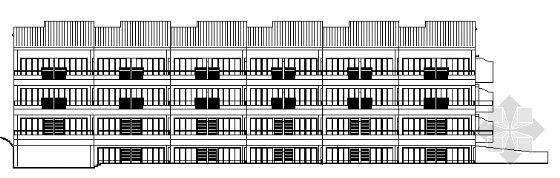 度假酒店建筑施工图