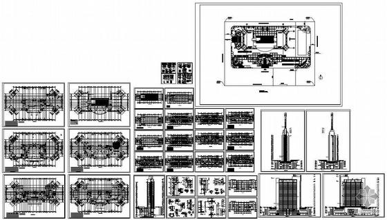某二十三层综合大厦建筑施工图-4
