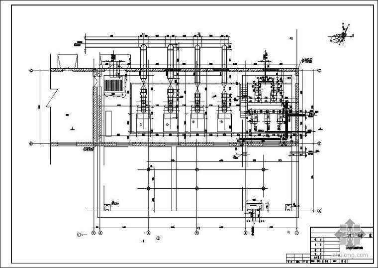 某电厂生活污水、雨水提升泵房施工图