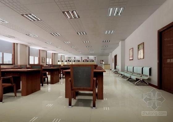 [葫芦岛]现代国家供电系统生产调度综合楼设计概念方案图阅读室效果图