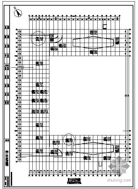 某广场地下人防工程结构设计图
