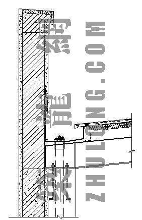轻钢屋面内排水天沟详图