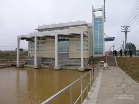 [天津]泵站联合厂房施工组织设计投标书(钢筋混凝土沉井)