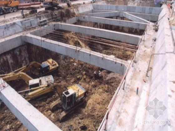 [浙江]办公楼地下室基坑排桩支护开挖监测施工方案