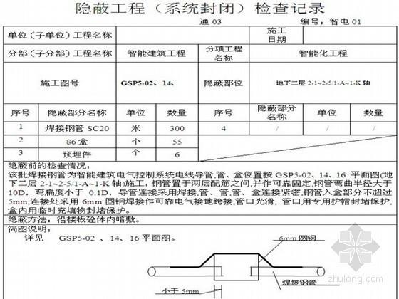 [浙江]科教楼弱电智能工程竣工验收全套资料(208页 附表)