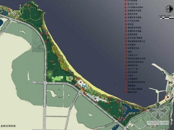 山东城市滨海开放空间概念规划设计