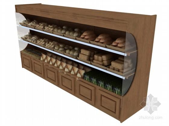 食品货架3D模型下载