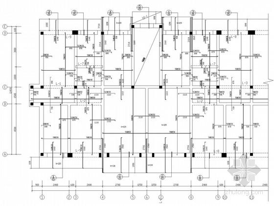 五层砖混带阁楼住宅结构施工图