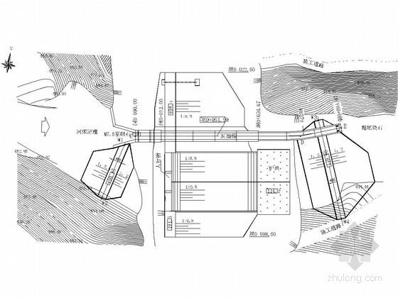 [四川]拦水坝工程施工图(坝基开挖 施工导流)
