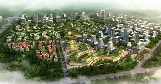 [河北]现代风格产业园区规划及单体设计方案文本(含CAD 多个方案)
